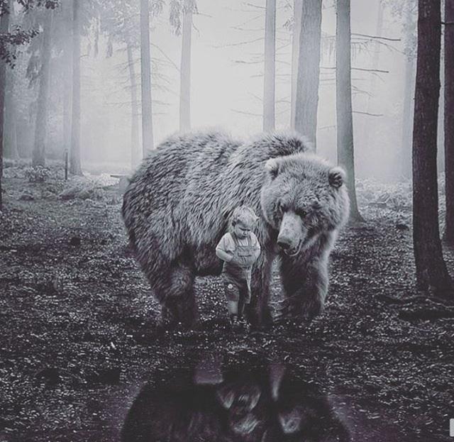 Bir Ayı ve Bir Çocuğun MuaddelHasbihâlidir.